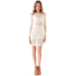 For Love And Lemons Dresses - NWOT For Love & Lemons Lila Dress - Off White